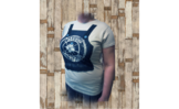 Overalls T-shirt for ladies!