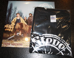 Farm Machine LP +T-shirt Bundle